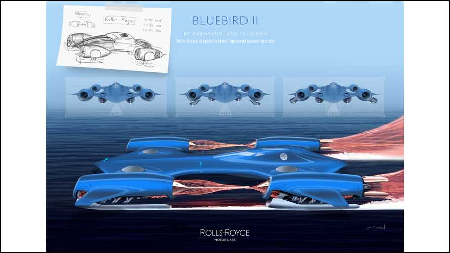 Rolls-Royce Young Designer Competition Winners
