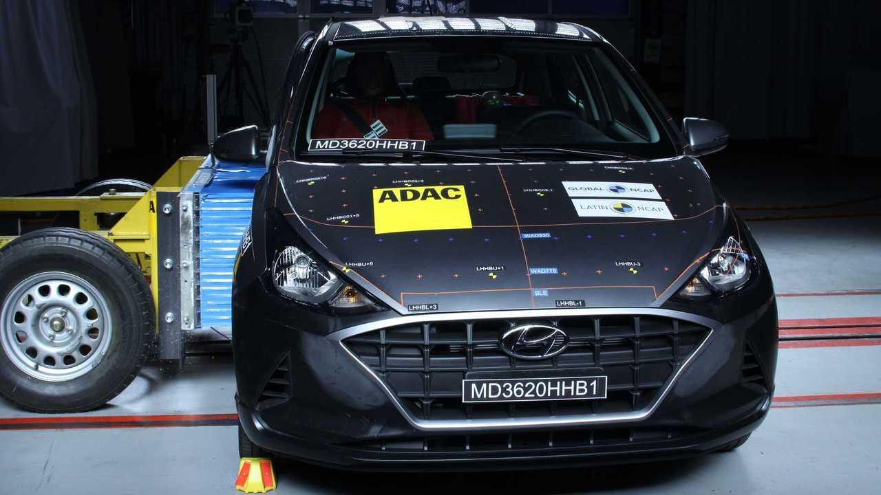 Hyundai HB20 - Teste de colisão (2020)