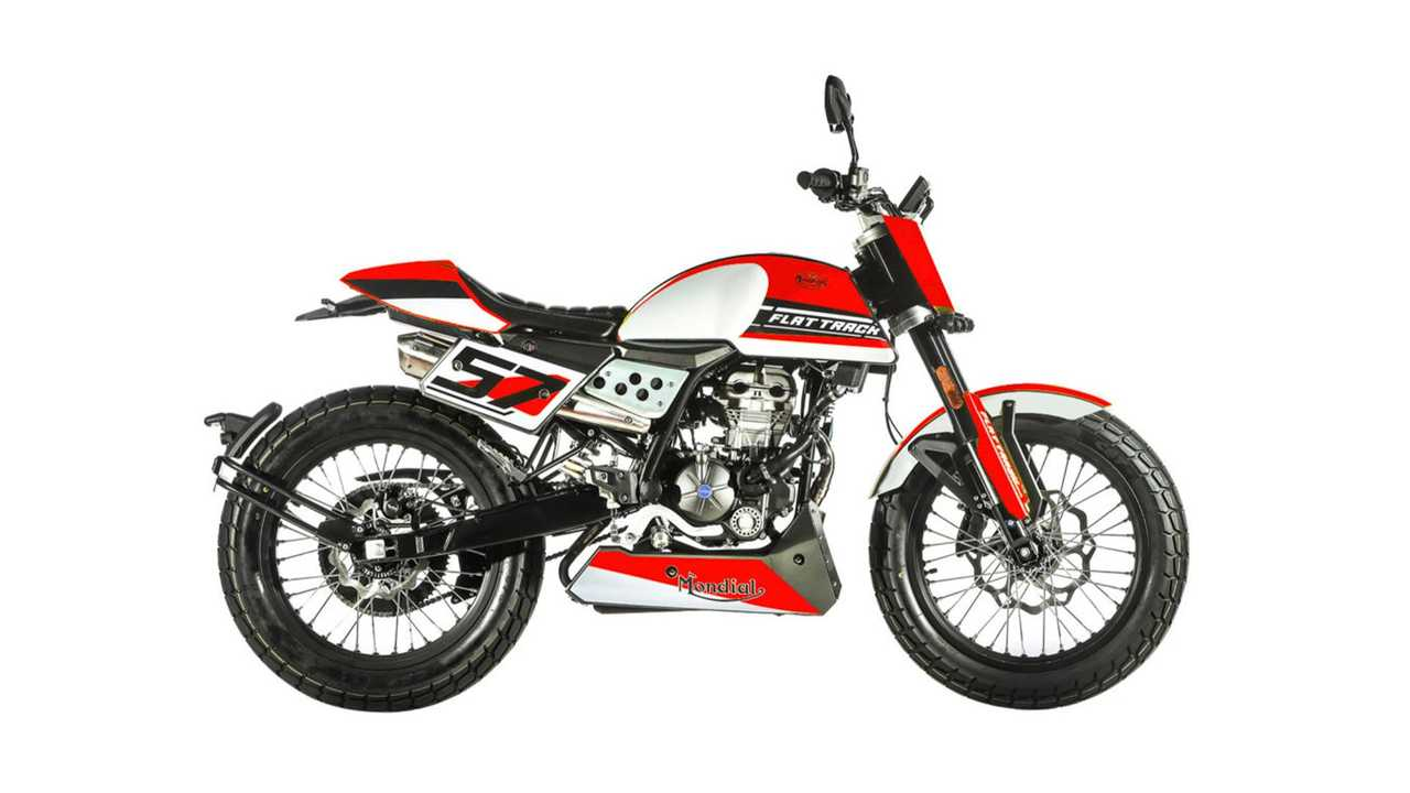 2020 FB Mondial Flat Track 125 - Red