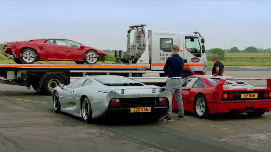 Top Gear Series 29 Teaser Shows SF90 Drifting, Diablo On Trailer