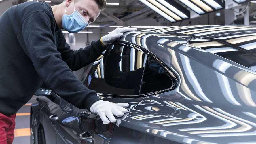 Audi e-Tron GT'nin üretimine başlıyor