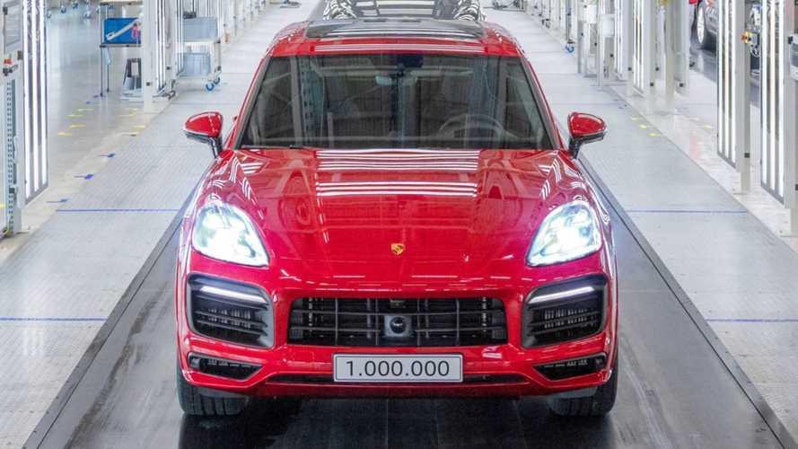 Porsche отпраздновал выпуск миллионного Cayenne