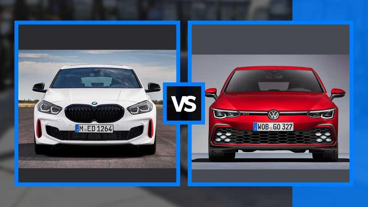 BMW 128ti vs. VW Golf GTI