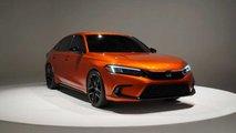 Honda Civic Prototype 2022 - Fotos ao vivo