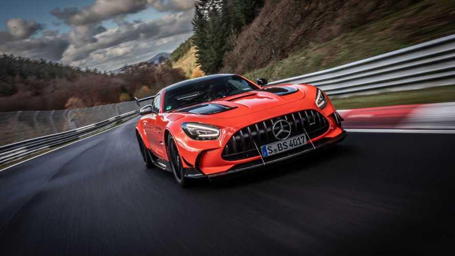 Mercedes-AMG GT Black Series'in Nürburgring rekor turu yayınlandı