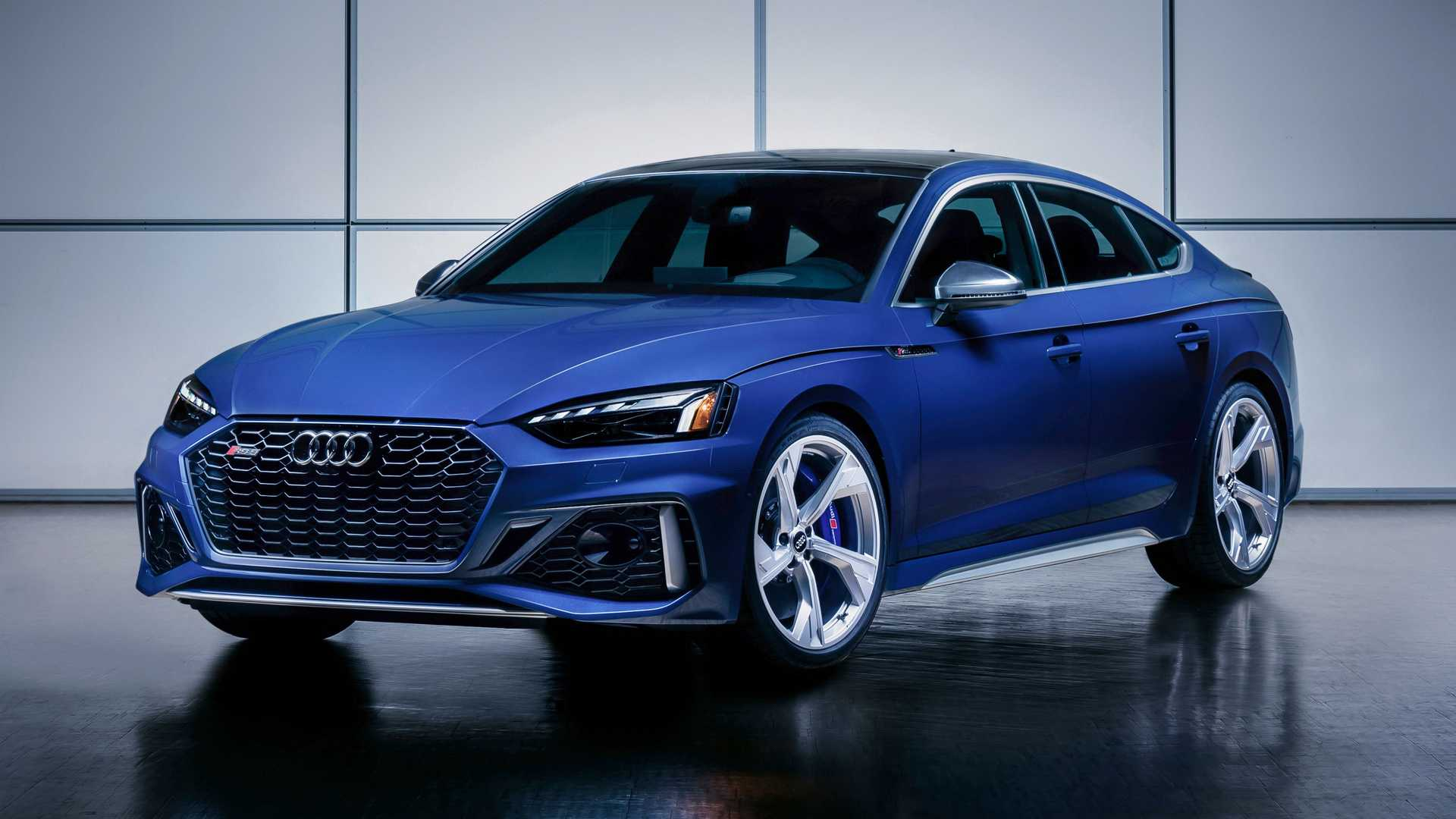 2021 Audi RS5 Coupe & Sportback Get Styling Tweaks, 2 Special Editions