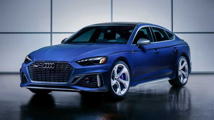 2021 Audi RS5 Coupe and 2021 Audi RS5 Sportback