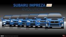 Subaru Impreza WRX Generations