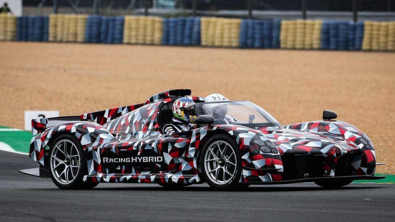 Toyota GR Super Sport en Le Mans 2020.