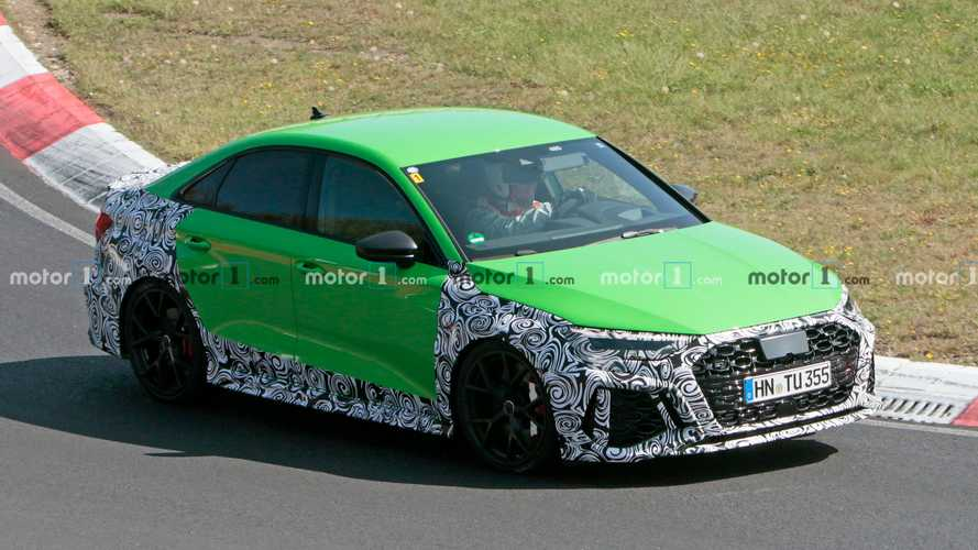 2021 Audi RS3 Sedan Nurburgring Lato Foto