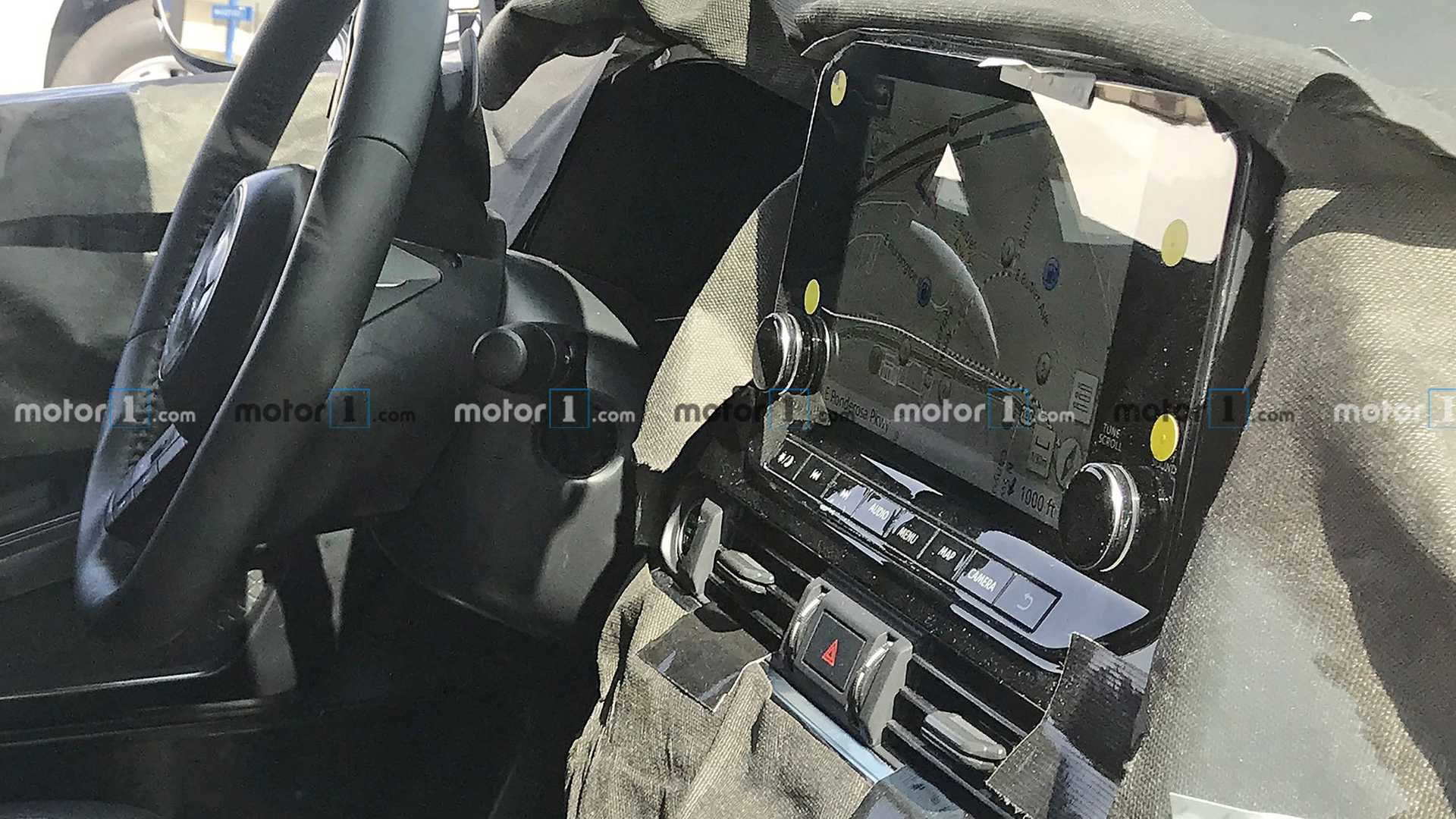 Next-Gen Nissan Pathfinder Spied Showing Overhauled Interior