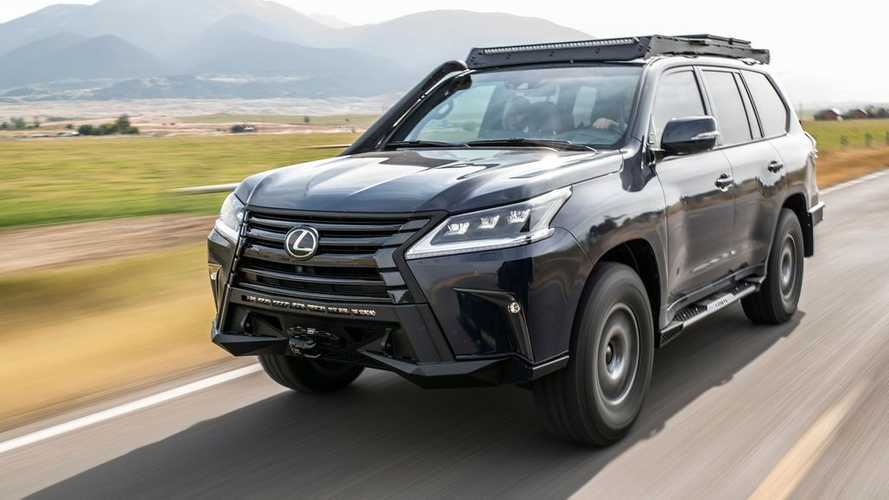 Lexus LX J201 Concept preps luxury SUV for overland adventures