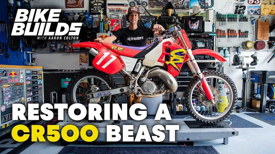 Watch This 1994 Honda CR 500 Come Back To Life And Go Get Dirty