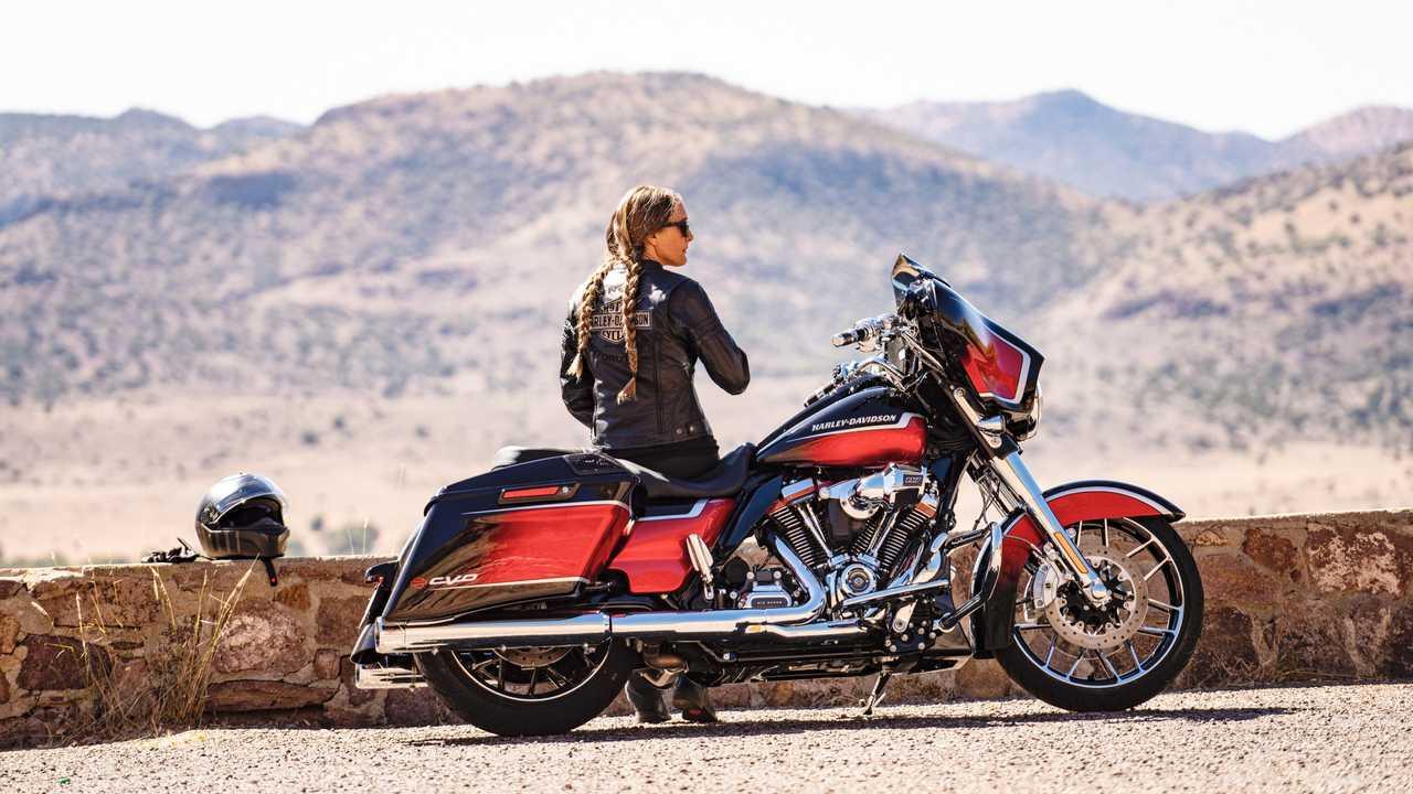 2021 Harley-Davidson CVO Street Glide Parked