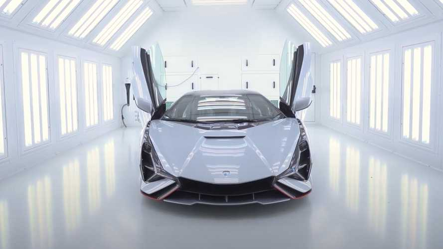 Lamborghini Sian Owner Arrives At Factory To See His 95-Percent Complete Car