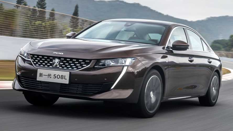 En Chine, la Peugeot 508L coûte moins de 20'000 euros !