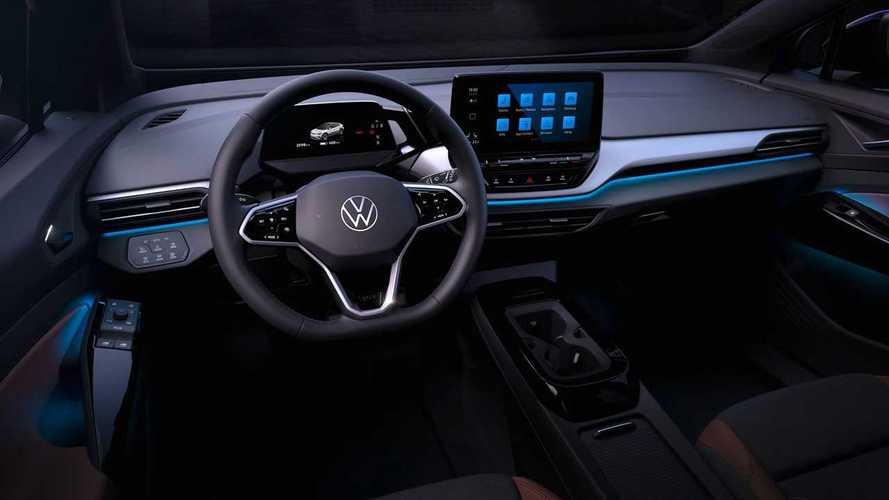 Volkswagen ID.4 tem o interior revelado em primeiras imagens