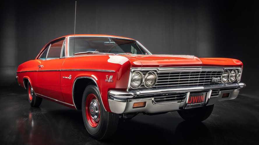 Enter Soon! Win This Epic 1966 Chevy Impala Sport Coupe Plus $10,000 Cash!