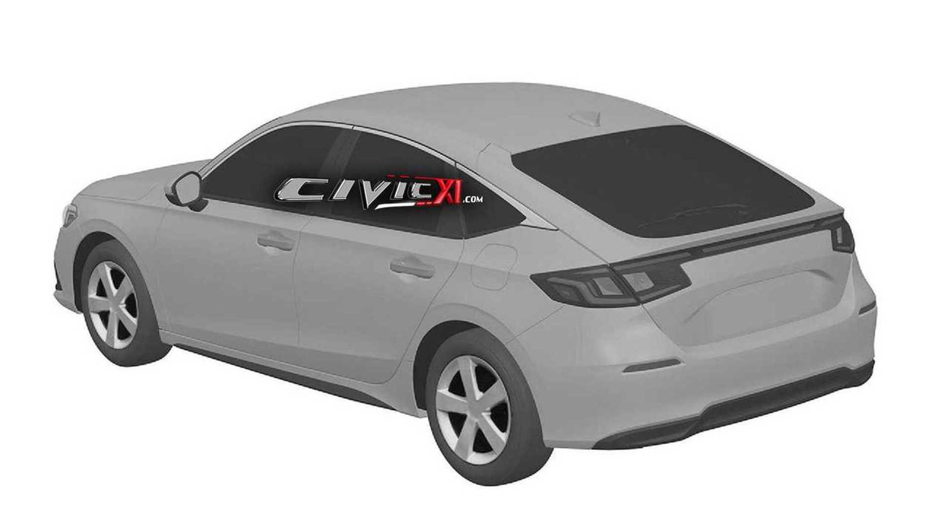 honda-civic-11th-generation-design-trademark-rear-three-quarters