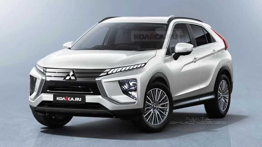 Refreshed Mitsubishi Eclipse Cross Takes Shape In New Fan Renderings