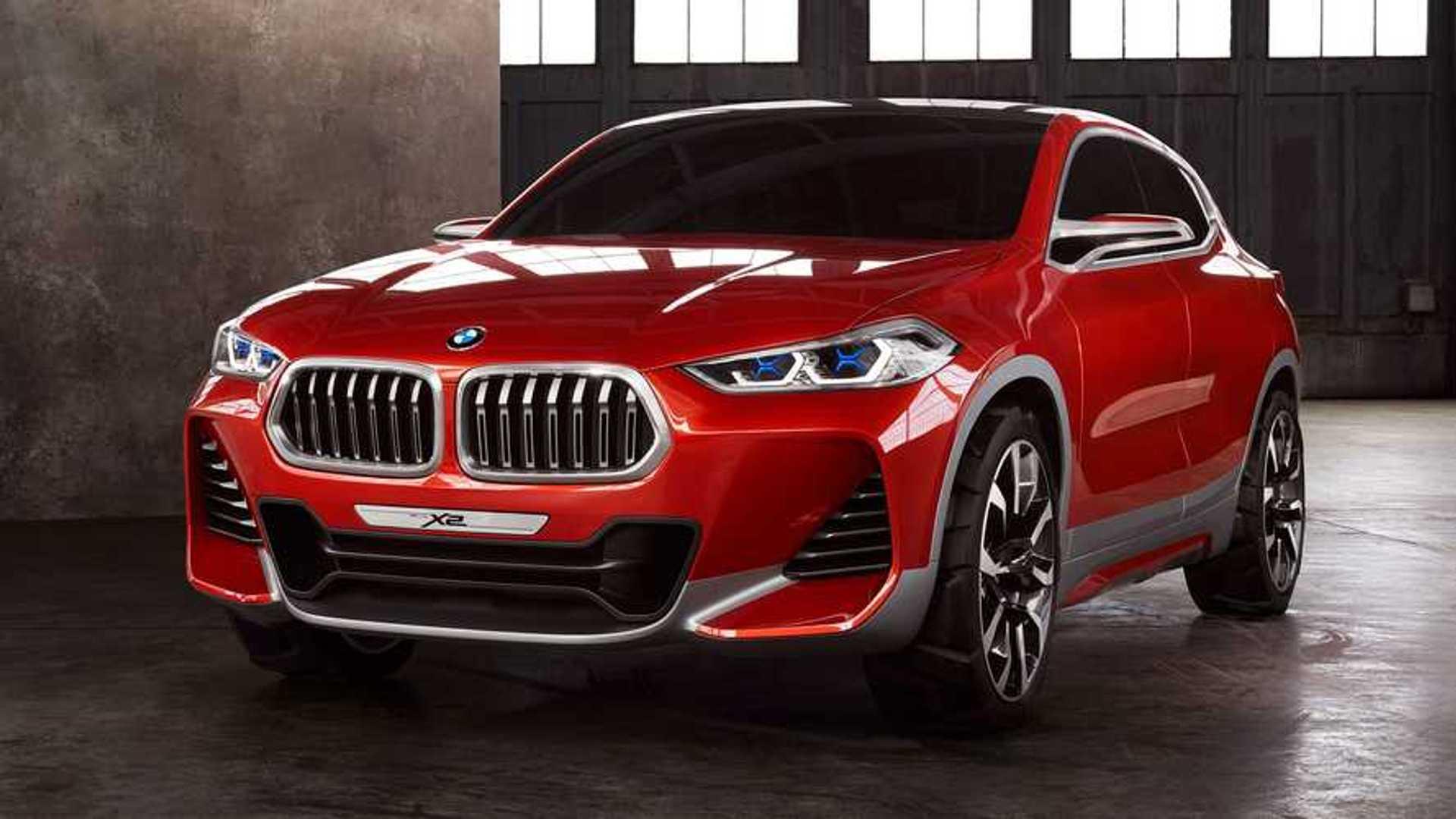 BMW X2 2023 года станет больше и может породить электрический iX2