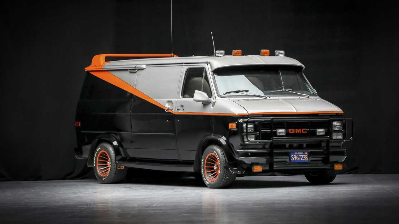 Chevrolet Official A-Team Van Front View