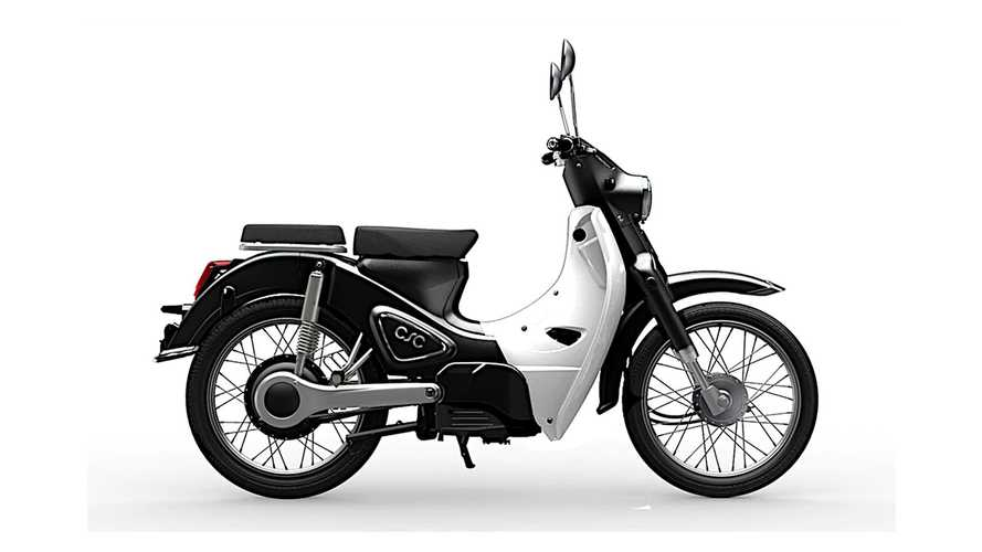 CSC Monterey Electric Scooter Dreams Of Being A Super Cub Someday