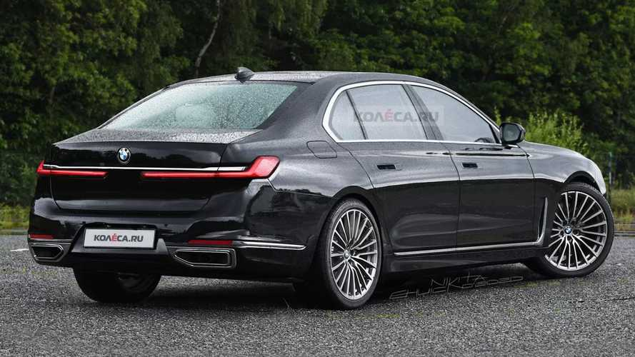 2023 BMW 7 Series Render'ları