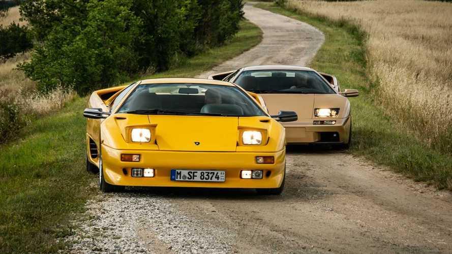 La Lamborghini Diablo festeggia 30 anni