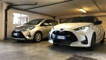 Toyota Yaris vecchia contro nuova