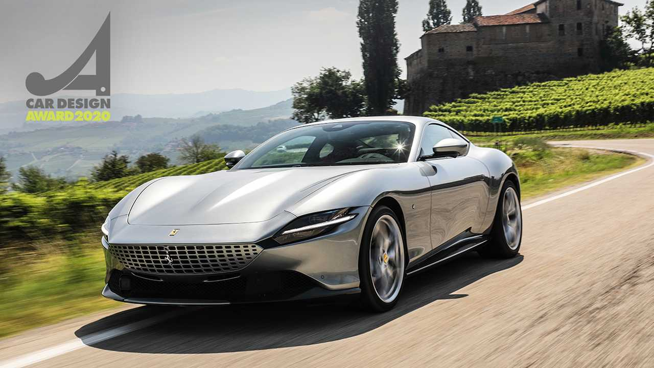 Ferrari Roma, Car Design Award 2020