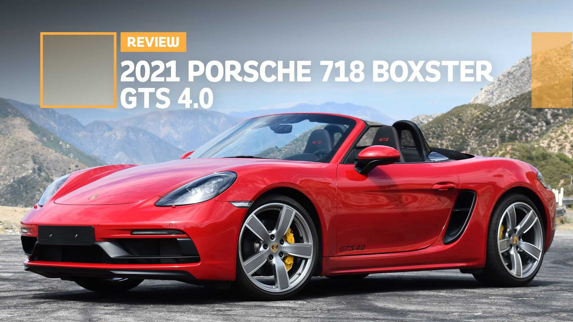 photo of 2021 Porsche 718 Boxster GTS 4.0 Review: Distilled Spirits image