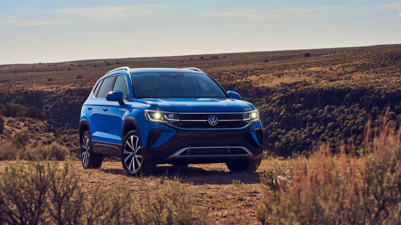 Volkswagen Taos (2020), вид спереди