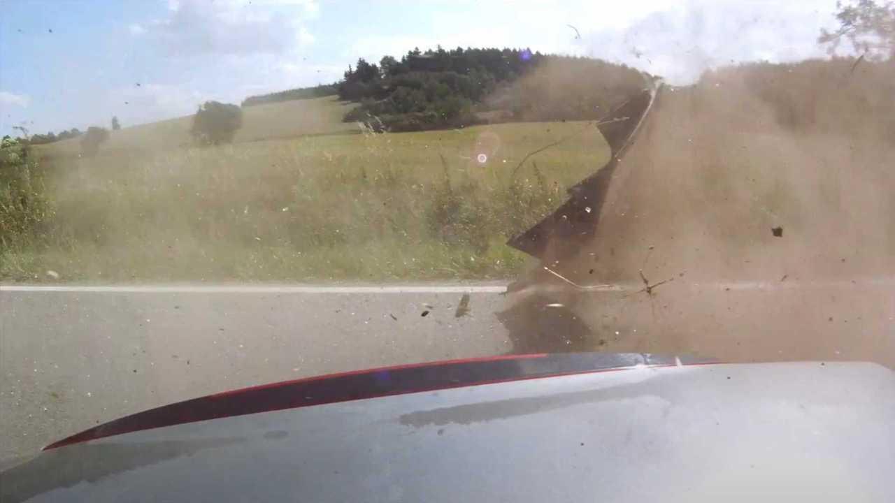 Honda crash