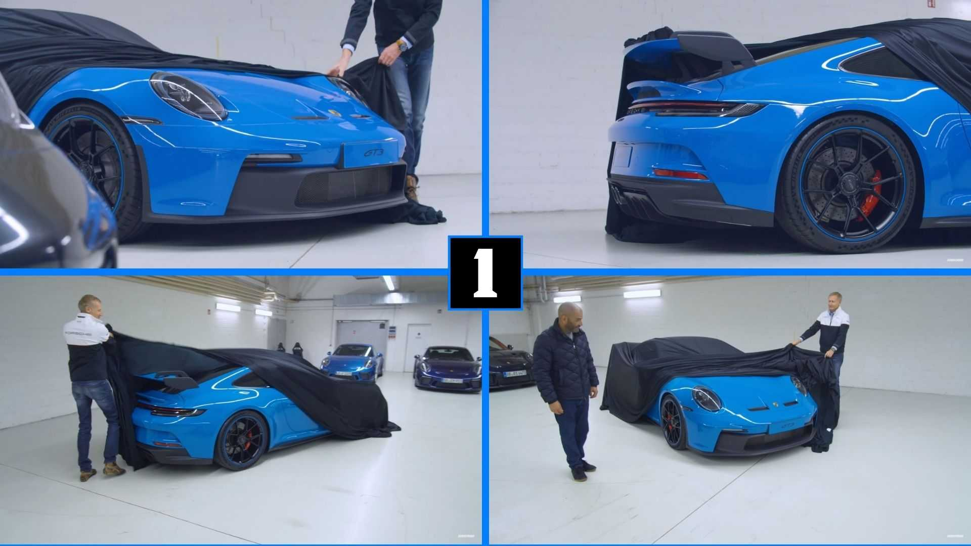 Chris Harris Takes A Peek Under Cover To See The New Porsche 911 GT3
