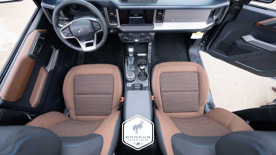 Ford Bronco Outer Banks Roast Cloth Interior