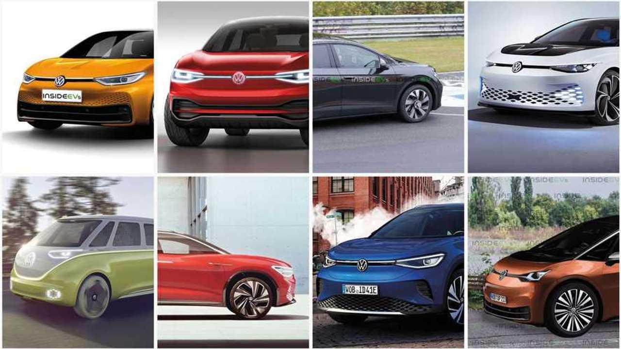 Volkswagen elettriche: 8 modelli ID in 3 anni