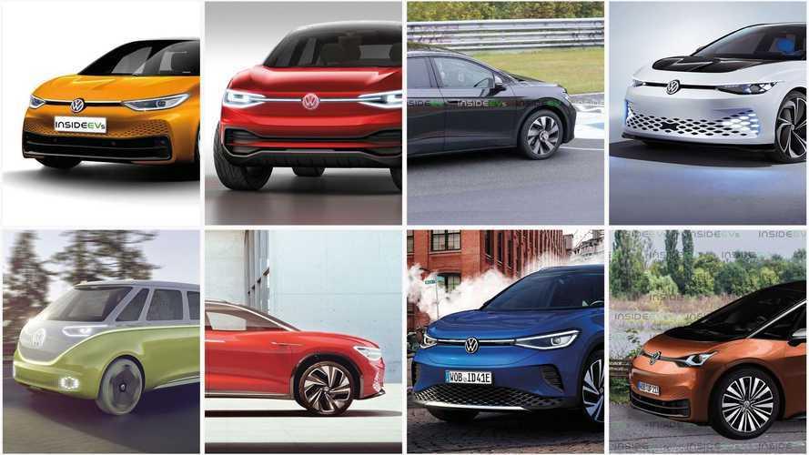 Volkswagen avrà 8 modelli elettrici ID entro il 2023 (almeno in Cina)