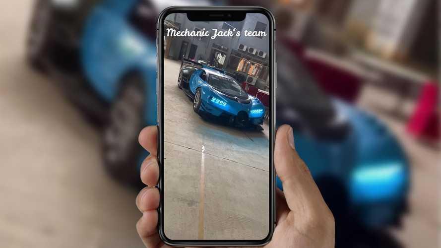 """Cette Bugatti Vision GT """"faite maison"""" est plus vraie que nature !"""