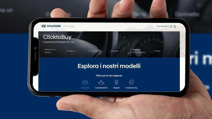 Comprare l'auto nuova online, Hyundai lancia Click to Buy