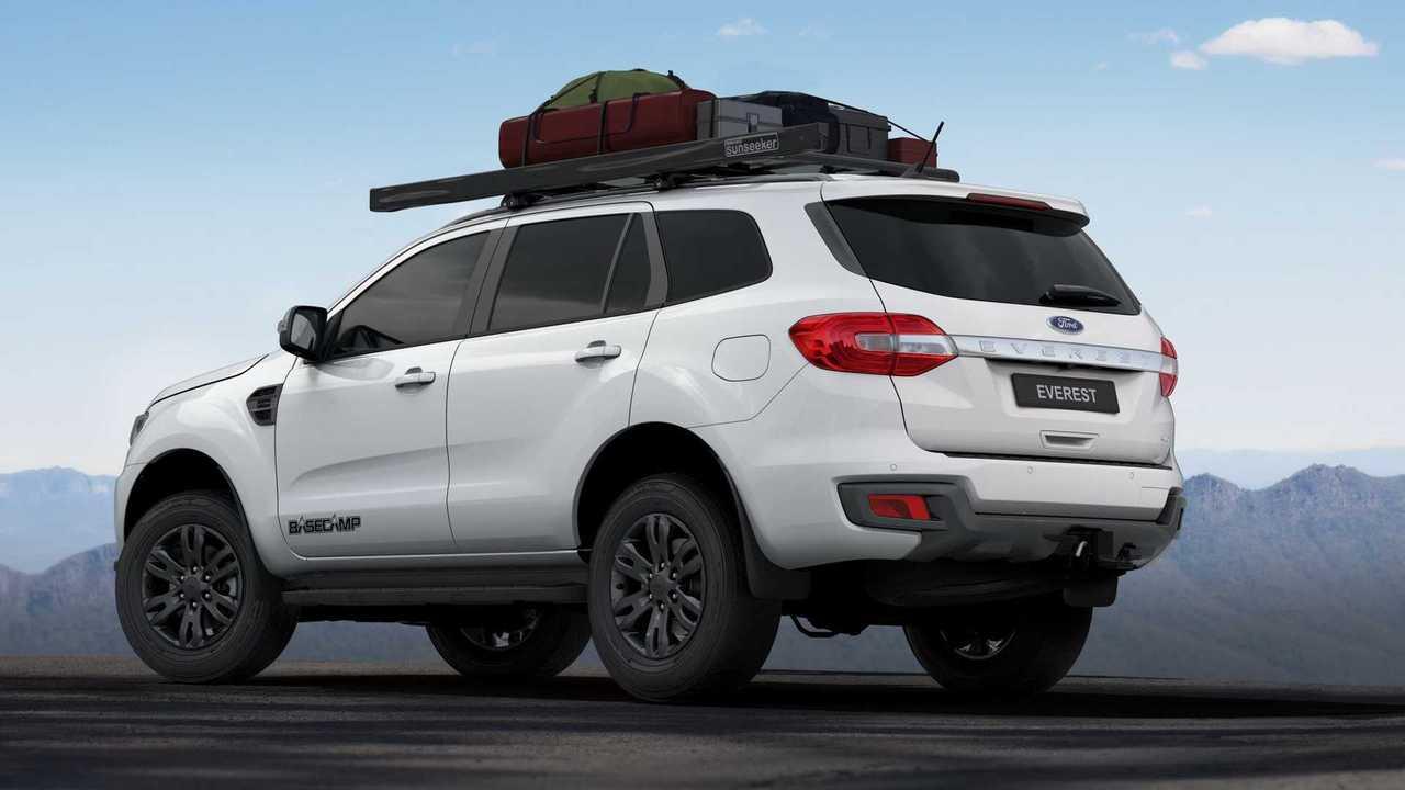 2021 Ford Everest Basecamp