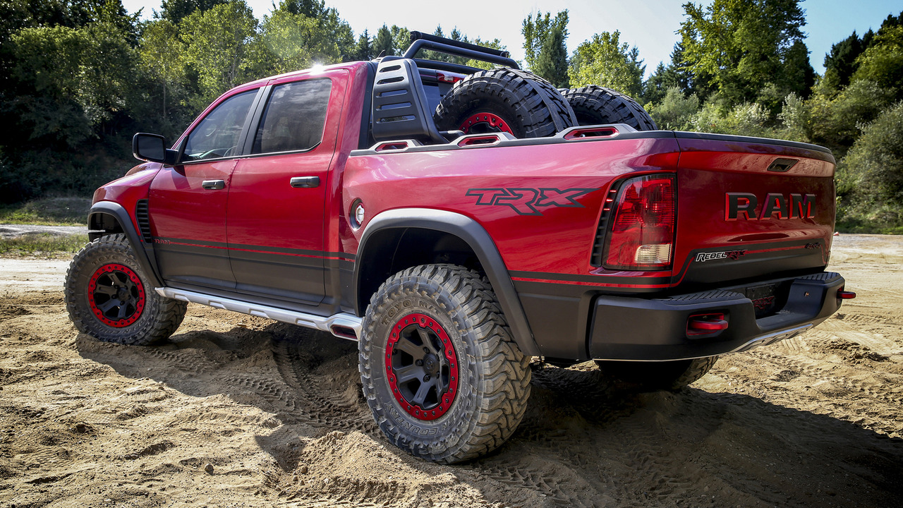 Ram Rebel Trx To Pack 707 Hp Rebel Tr Coming With 520 Hp