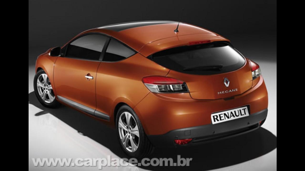 Renault Divulga Imagens E Dados Oficiais Do Novo Megane Coupe 2009