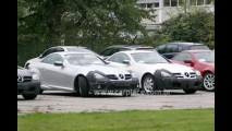 Segredo: Novo coupé-cabriolet Mercedes SLK é flagrado