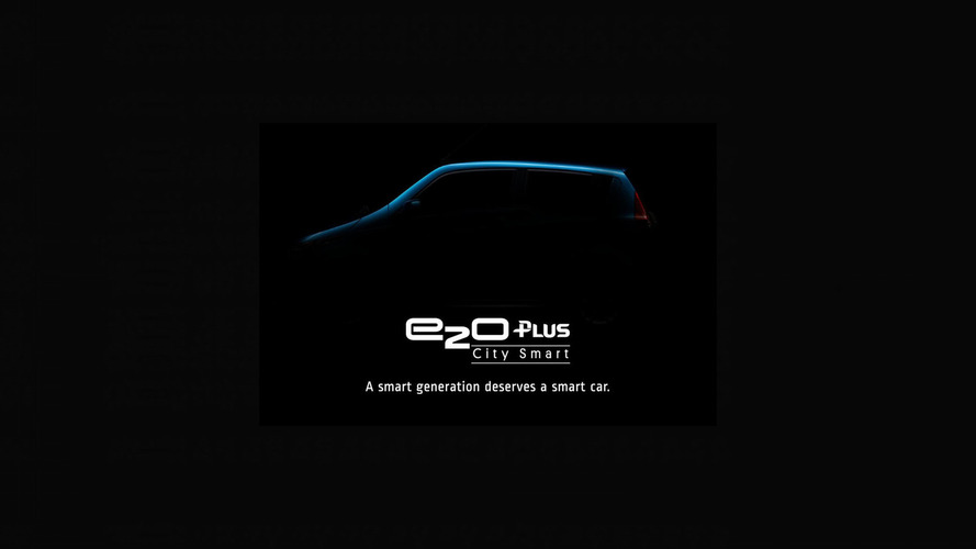 Mahindra e2oPlus Teaser