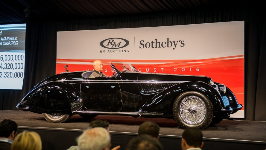 Feast your eyes on some of the cars that were auctioned in Pebble Beach