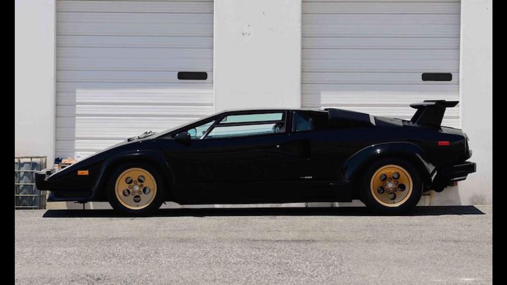 This Lamborghini Countach Has Less Than 10 000 Miles To Its Name