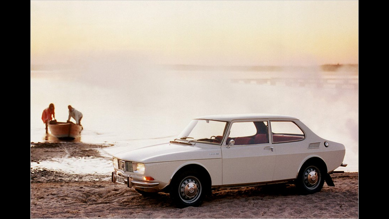 Der Wikinger ist da: Mit diesem Slogan bewarb Saab 1967 den völlig neuen 99