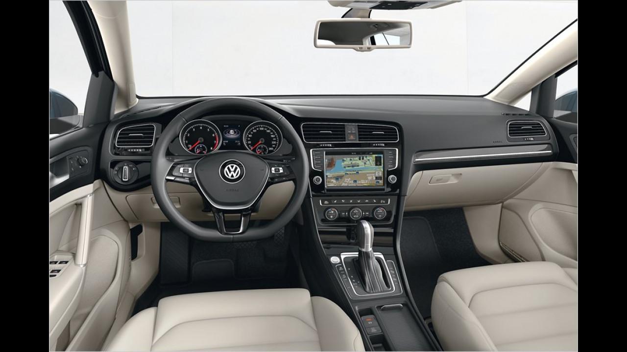 Basisausstattung: VW Golf