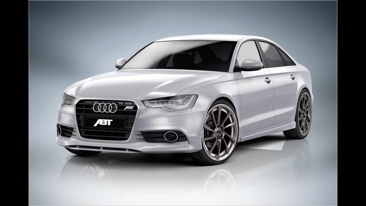 Abt nimmt sich den Audi A6 zur Brust